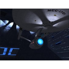 USS Enterprise im Spcacedock