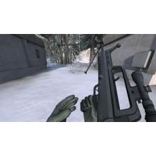 QBB95 Leichtes Maschinengewehr mit Zielfernrohr beim nachladen
