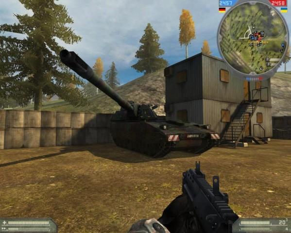 Panzerhaubitze 2000 Ingame
