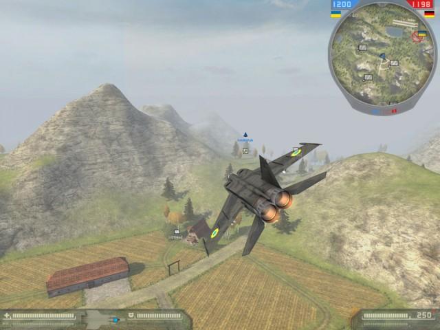 Patrouillienflug über Sambir