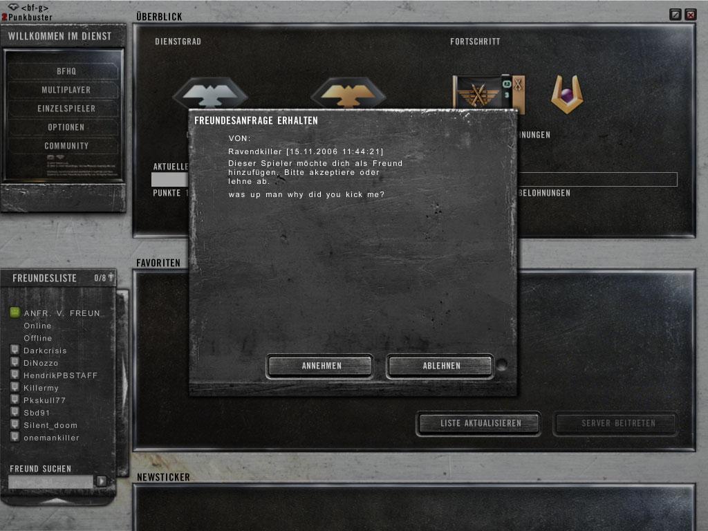 Alltag in Battlefield 2142