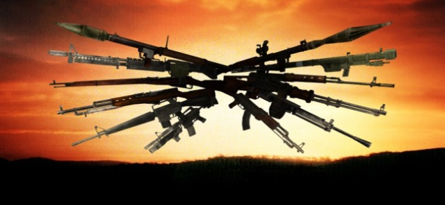Hier Seht Ihr Waffen