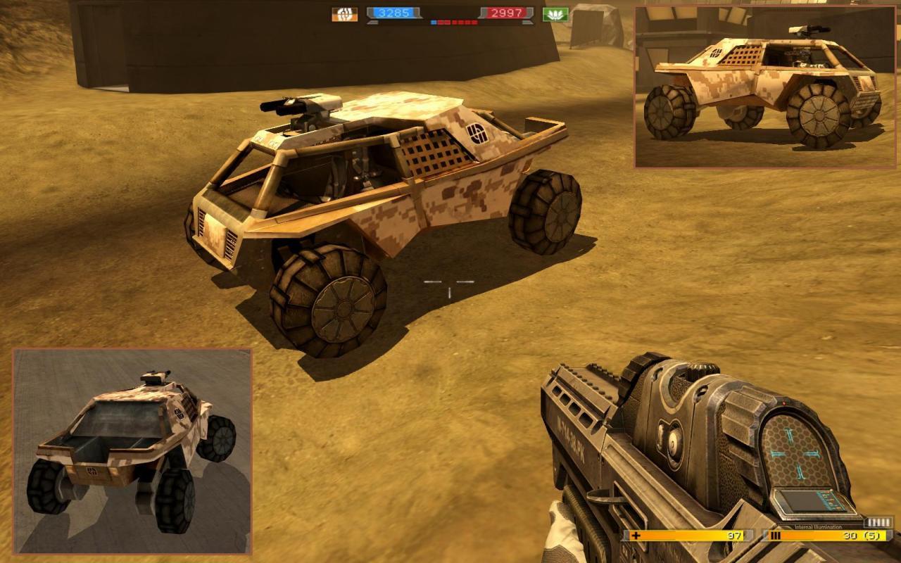EU FAV - Desert Camouflage