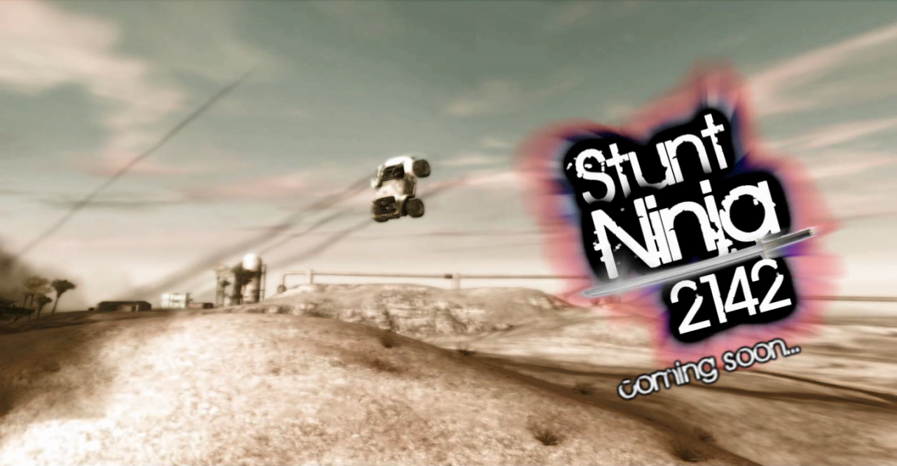 Stunt Ninja 2142 Poster