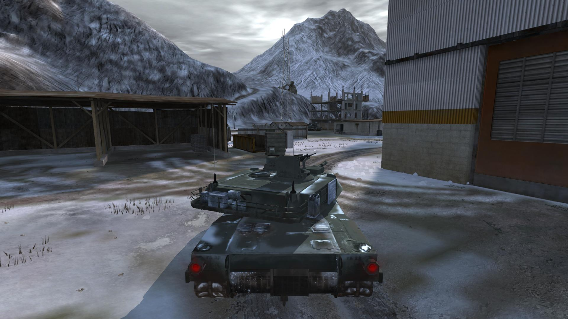 M1A2 Abrams Panzer mit neuen Texturen