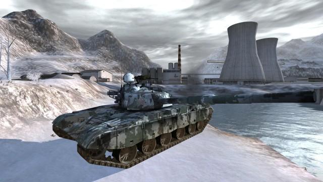 Chinesischer Kampfpanzer mit neuen Texturen