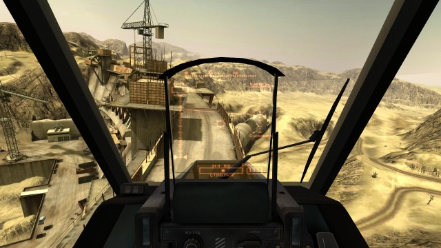Havoc Helikopter HUD