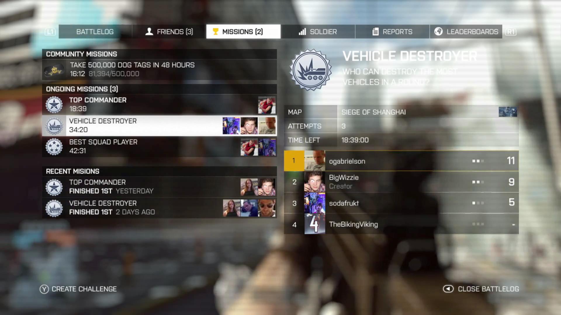 Battlefield 4 - Battlelog
