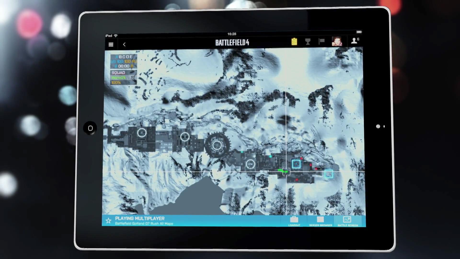 Battlefield 4 - Wintermap
