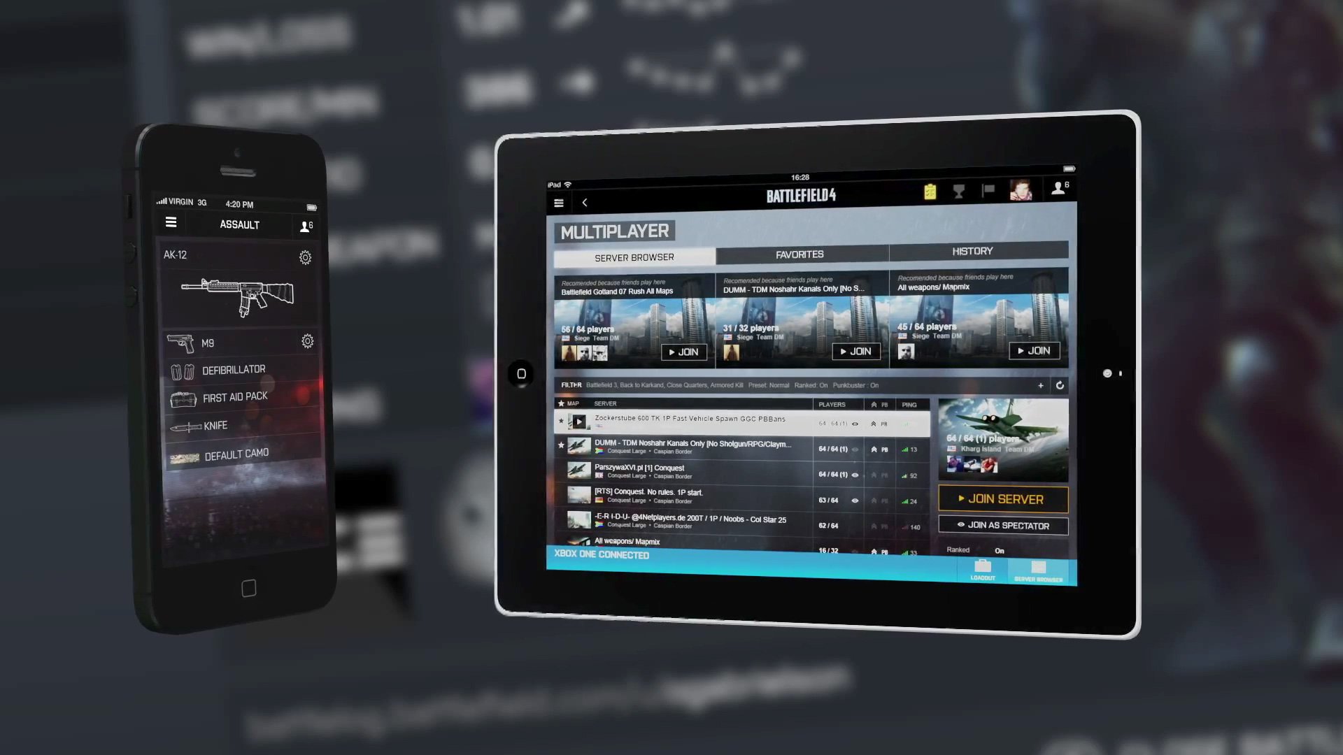 Battlefield 4 - Multiscreen