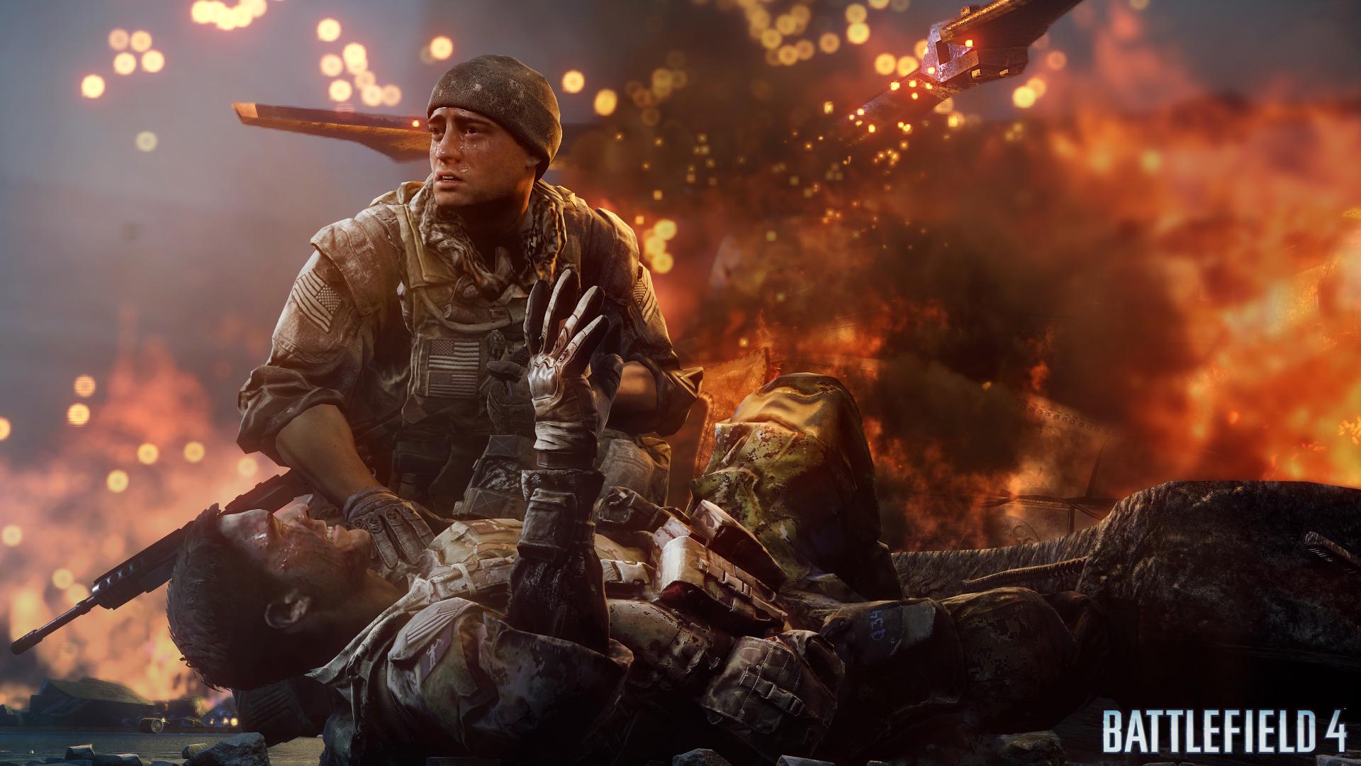 Battlefield 4 - Fishing in Baku