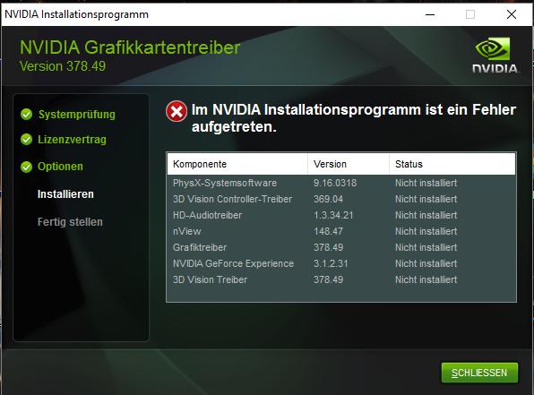 nvidia installation fehler.PNG